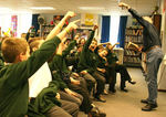 Yeah! Rousing poetry in this Bristol school