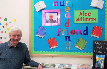 Reading Friend Display with Alec Williams at Littlecoates